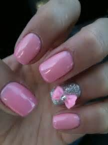 Cute nail ideas with bows style motivation