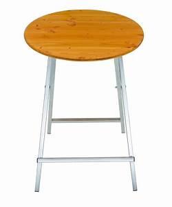Table Haute Pliable : table haute de bar pliable en spin 80cm ~ Teatrodelosmanantiales.com Idées de Décoration