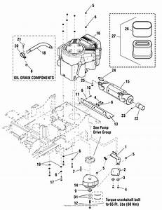 Simplicity 5901216   50 U0026quot  Mower Parts Diagram For Engine