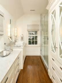 wood flooring bath design bathroom ideas - Galley Bathroom Design Ideas