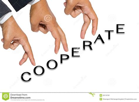 Cooperate Stock Image. Image Of Hand, Unity, Communication