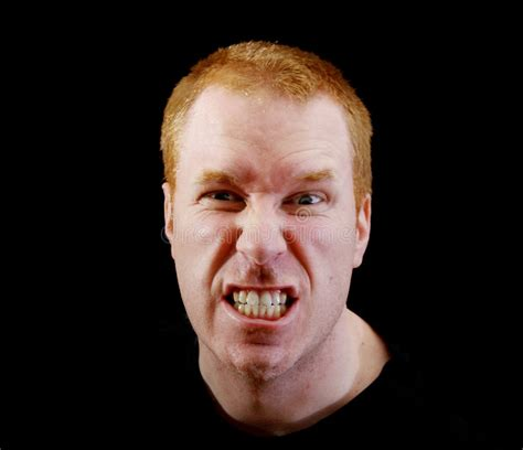 Angry man stock image. Image of face, anger, bite, angry - 4590799