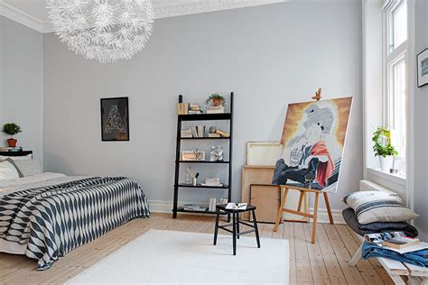 Black And Decor - swedish apartment boasts exciting mix of and new