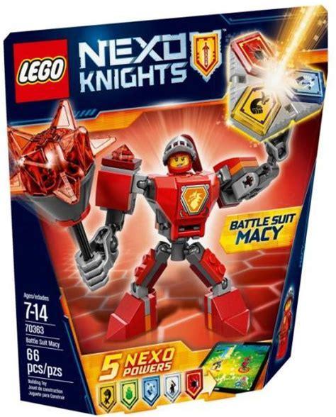 Vásárlás: LEGO Nexo Knights - Macy harci öltözéke (70363) LEGO árak összehasonlítása, Nexo ...