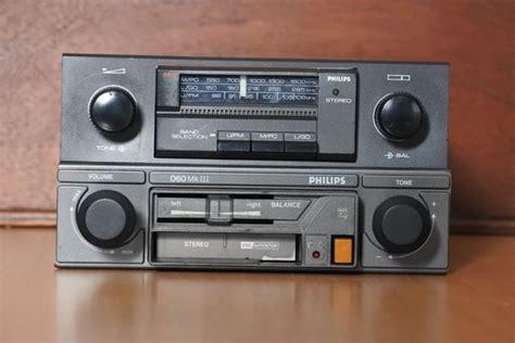 Philips Sprint 79dn189 Classic Car Radio With Fm
