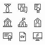 Resume Icons Cv Icon Iconos Packs Vectorified
