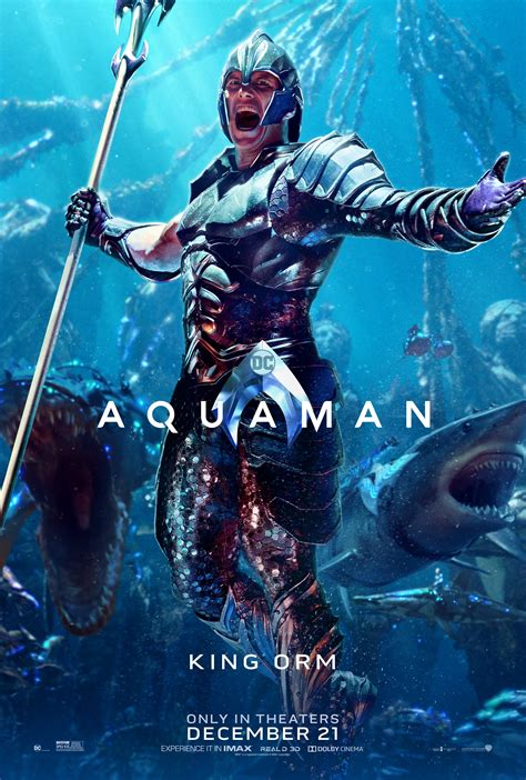 aquaman    gorgeous posters   release