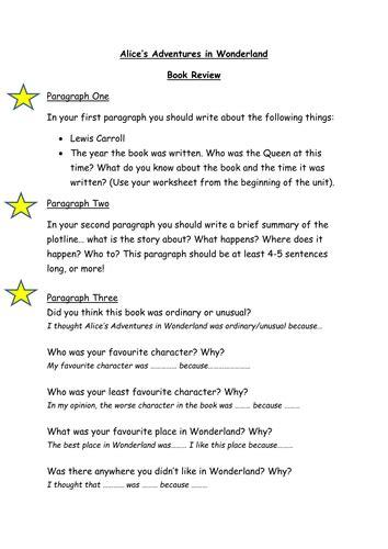 alice  wonderland  sarahcracker teaching resources
