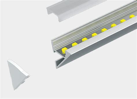 wall cove led profile for led led in profile