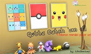 My Sims 3 Blog: Pokemon and Winnie The Pooh Posters by