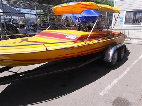 Used Boat Trailers Daytona 1984 daytona jetboat with trailer powerboat for sale in