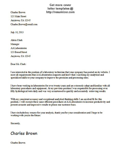 cover letter templates   cover letter template
