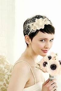 Brides With Short Hair Wedding Hairstyle Ideas Hair