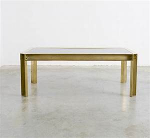 solid brass coffee table of the 1970s vintage design point With solid brass coffee table