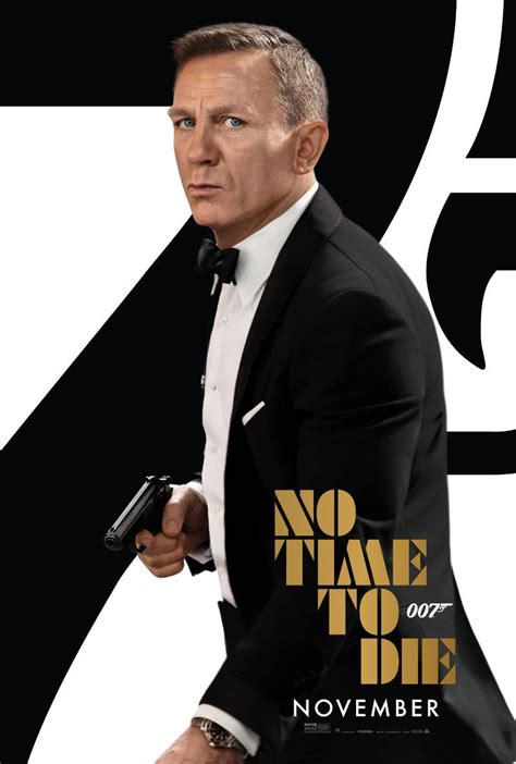 New Poster for James Bond Movie No Time to Die ...
