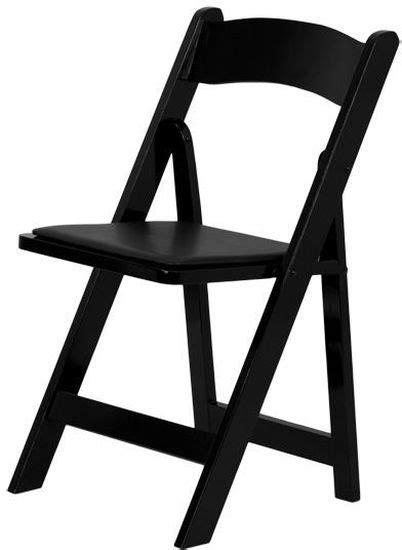 folding chair black wood padded vinyl seat set of 10