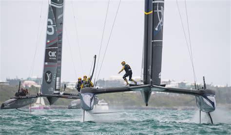 Xs Catamaran by America S Cup Bermuda 2017 Ac50s Foils Xs Sailing
