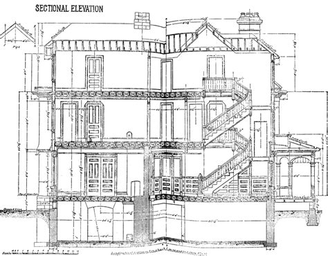 sectional elevation clipart etc