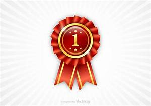 Free First Place Ribbon Vector - Download Free Vector Art ...