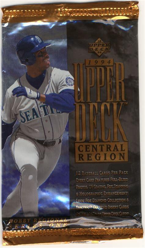 Best baseball cards of the 90s. Baseball Card Blog: Random Packs: 90s Upper Deck
