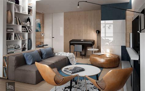 Living Room Casual Style Interior Design Ideas