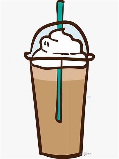 Coffee Iced Clipart Transparent Latte Cappuccino Espresso