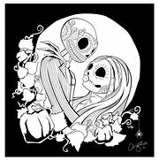 nightmare-before-christmas-jack-and-sally-i16 jpg  Jack And Sally Coloring Pages