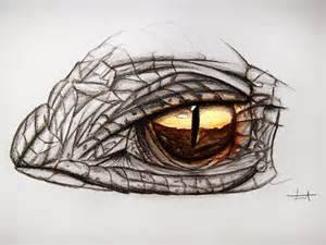 Cool Dragon Eye Drawings