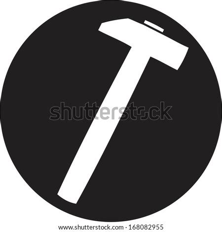 tsquare ruler symbol stock vector  shutterstock