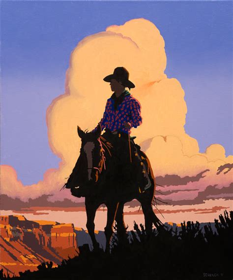 modern western billy schenck western pop and modern western paintings