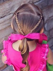 Coiffure Petite Fille Facile : coiffure pour petite fille pour tous les jours en plus de 40 id es inspirantes ~ Dallasstarsshop.com Idées de Décoration