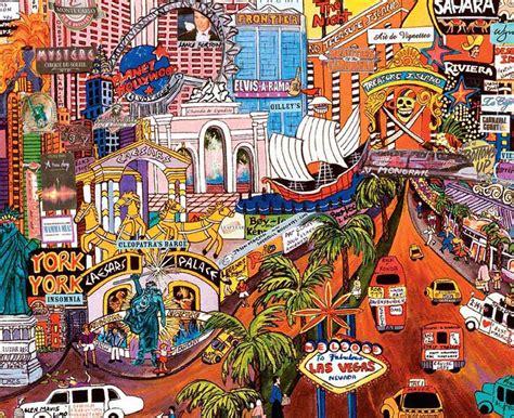 las vegas gold ii city lights jigsaw puzzle