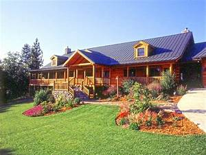 0142 for Log home landscaping ideas