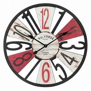 Horloge Murale Maison Du Monde : horloge d 60 cm douglas maisons du monde ~ Teatrodelosmanantiales.com Idées de Décoration