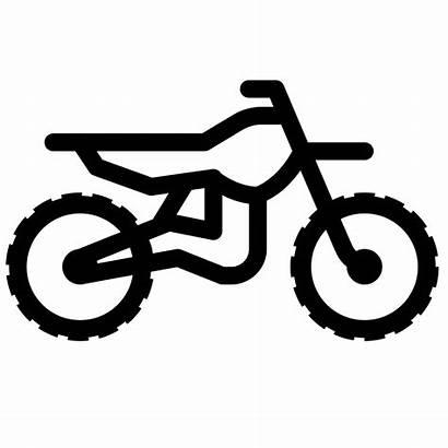 Dirt Bike Clipart Wheeler Icon Bicycle Motocross