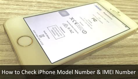 how to check iphone imei alternate ways to check iphone model number imei number