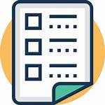 Icon Task Icons Checklist Management Agenda Project