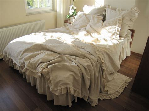 shabby chic neutrals bedding custom king duvet cover 6 pcs farmhouse country bedding