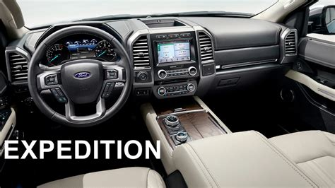 2018 Ford Expedition  Interior Youtube