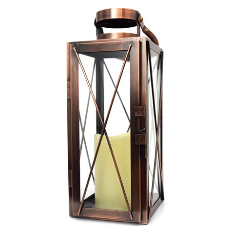 Garden Candle Lanterns by Battery Operated Garden Lanterns Flameless Candle