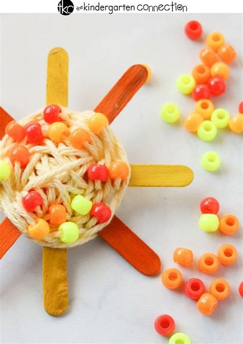 20 Sun Crafts for Kids – Sunny Bright Craft Projects | Sun ...