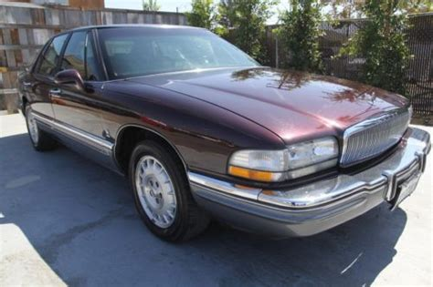 how petrol cars work 1994 buick park avenue head up display buy used 1994 buick park avenue ultra sedan 77k low miles automatic 6 cylinder no reserve in