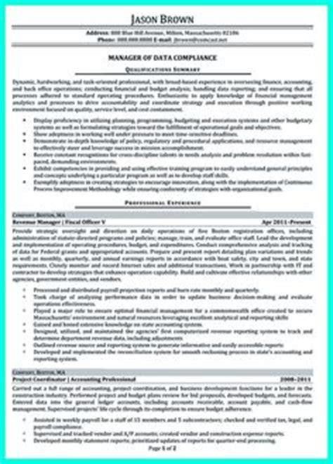 Budget Analyst Resume Sle by Resume For Skills Financial Analyst Resume Sle
