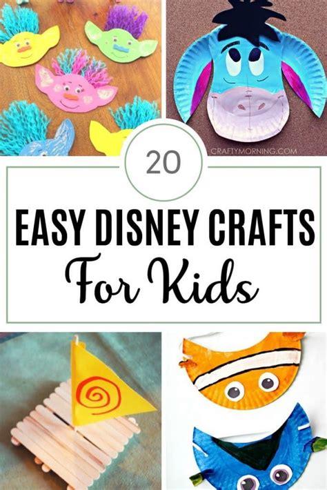 easy disney crafts  kids disney crafts  kids