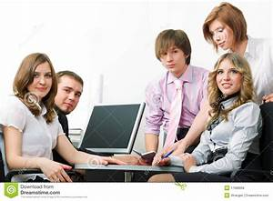 Young Business Team. Royalty Free Stock Photos - Image ...