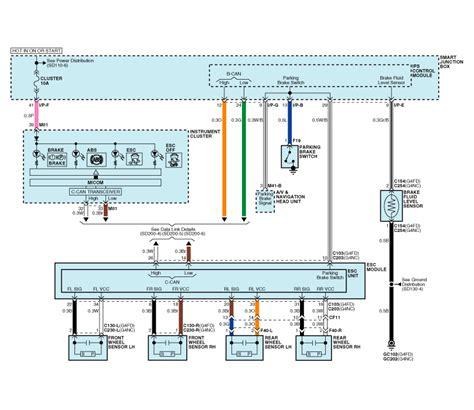 2011 Kium Optima Headlight Wiring Diagram by Kia Soul Schematic Diagrams Esc Electronic Stability