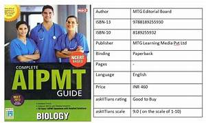 Complete Neet  Aipmt  Guide