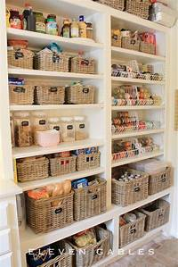 organizing a pantry 15 Kitchen Organization Ideas