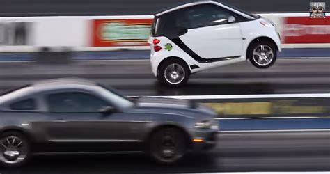 Who Needs Big Block Supercharged Smart Car Does
