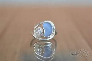 arabian made by meg jewelry With glass wedding ring